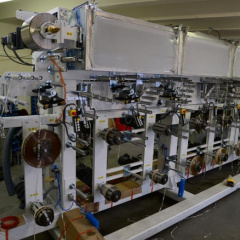 The electrical part of the flexographic printing machine