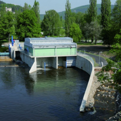 The electrical part of the  SMALL HYDROPOWER STATION BEROUN